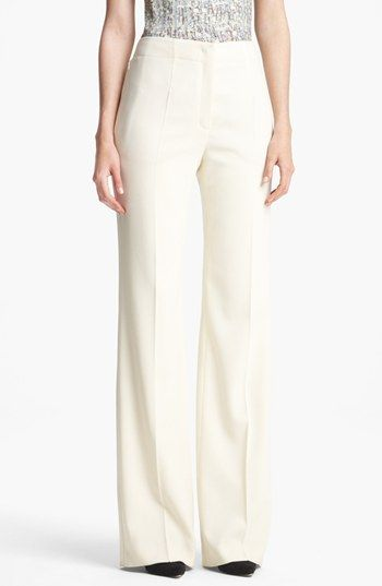 Escada  Columbo Wide Leg Stretch Wool Pants