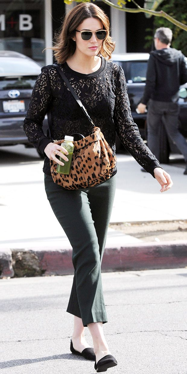 Mandy Moore Shows Us How to Run Errands In Style.