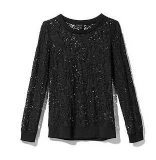 Theory  Jaidyn W Lace Top