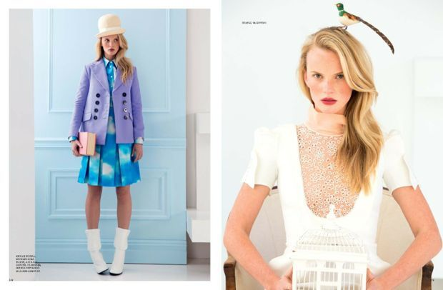 Anne V for Harper's Bazaar Russia