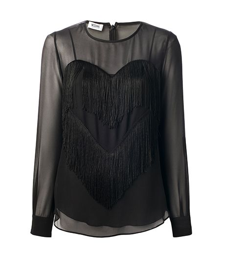 Moschino Cheap & Chic Moschino Cheap & Chic Long Sleeve Top