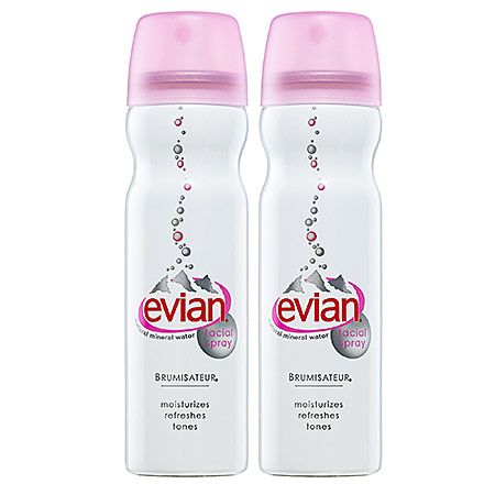 Evian Mineral Water Spray To Go