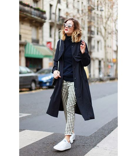 10 Best Blogger Looks From This Week: Sequin Skirts, Striped Sweaters, And More