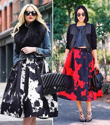The Skirt Every Street Style It-Girl Is Wearing