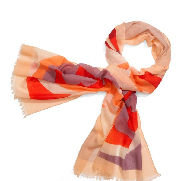 Tory Burch Reva Color Block Scarf