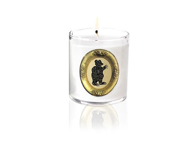 Patch NYC Bear Candle