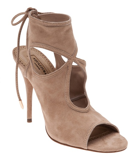 Aquazzura Sexy Thing Cut Out Bootie