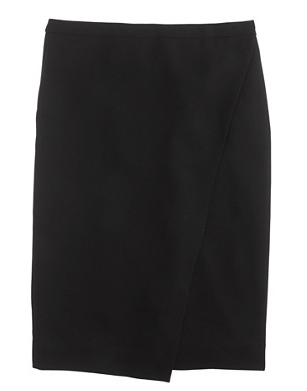 J.Crew Wrap Pencil Skirt