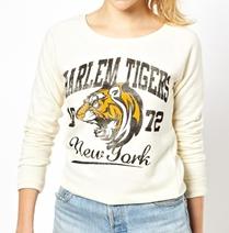 Brave Soul Harlem Tigers Sweatshirt