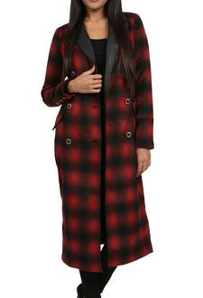 Free People Maxi Seargeant Coat