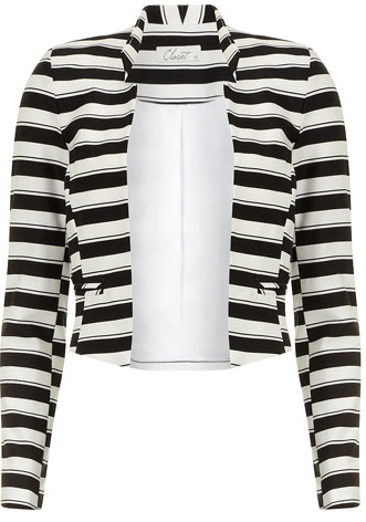 Dorothy Perkins Black/White Stripe Jacket