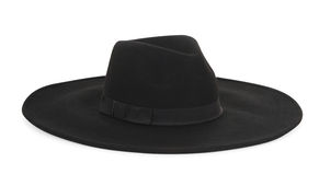 BCBGMAXAZRIA Wool Wide-Brim Hat