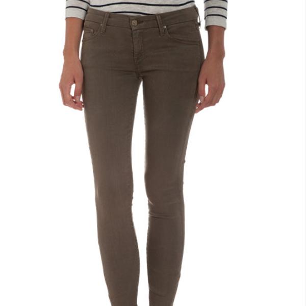 Mother Looker Olive Dominator Jeans