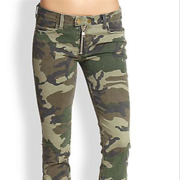 Textile Elizabeth And James Cooper Camouflage Skinny Pants