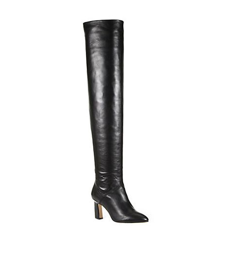 Brian Atwood Febe Leather Over-The-Knee Boots