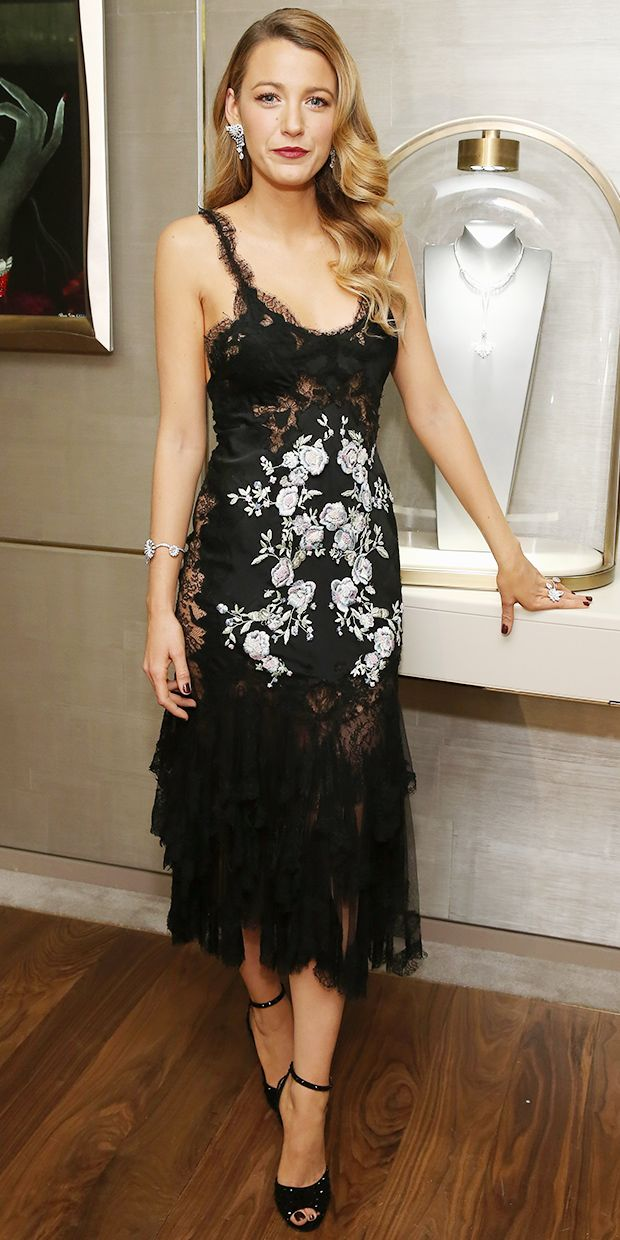 Blake Lively Does Evening Glamour Just Right