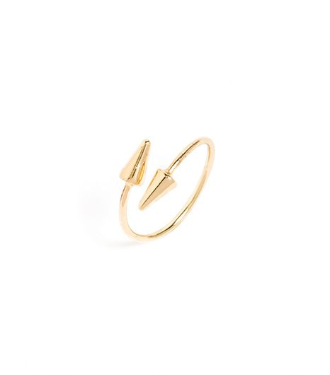 Bauble Bar Twisted Spike Midi Ring