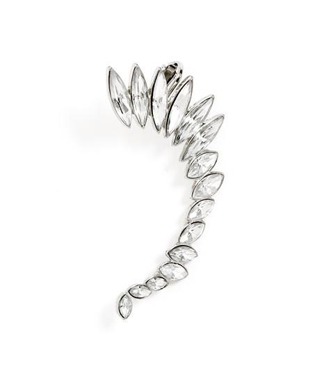 Bauble Bar Winged Crystal Ear Cuff