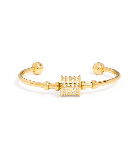 Bauble Bar Crystal Barrell Cuff Bracelet