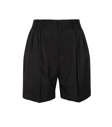 MM6 Maison Martin Margiela MM6 Maison Martin Margiela Wool-Pique Shorts