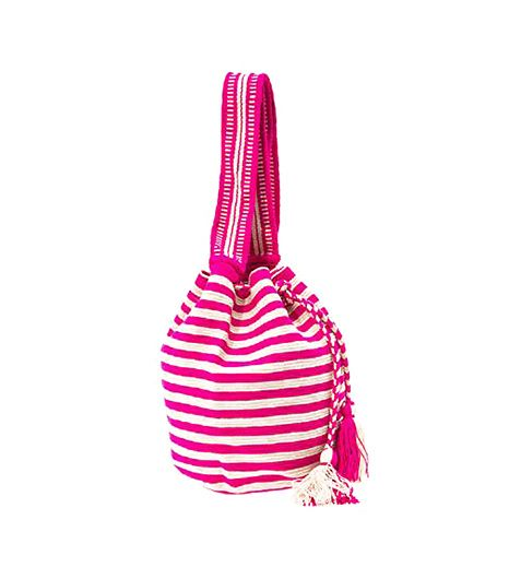 Sophie Anderson Hermana Stripe Bucket Bag