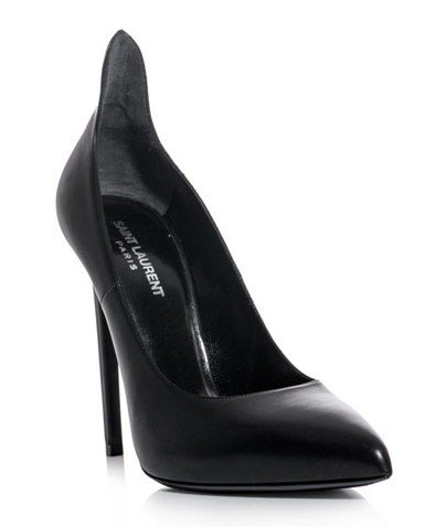 Saint Laurent Paris  Sculpted Back Pumps