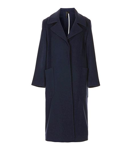 Topshop Boutique  Long Wool Pocket Coat