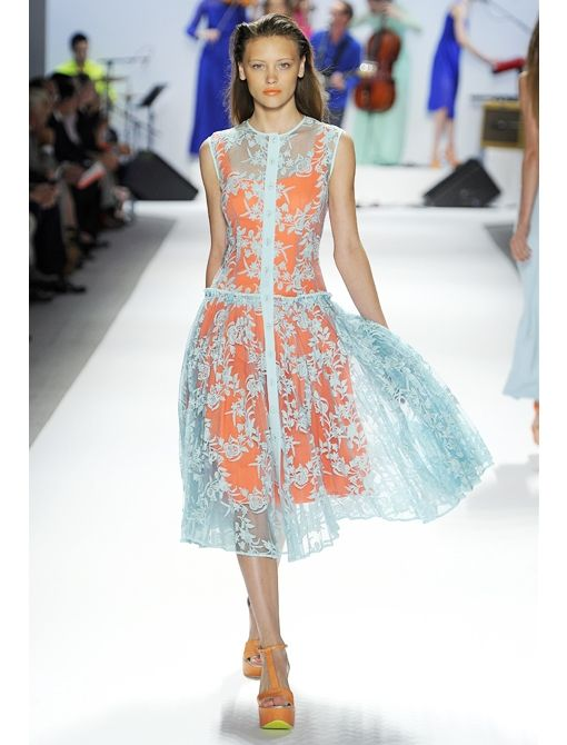 Contrast Lace Dresses