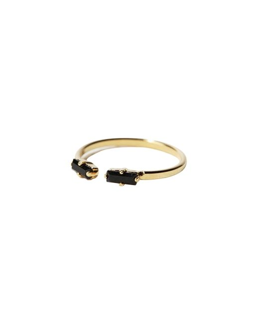 Black Microcrystals Ring ($60)