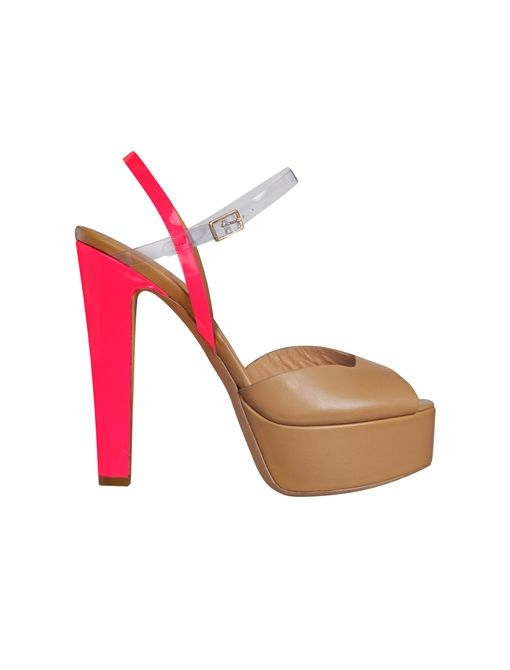 London Greek Heels ($274) in Pink