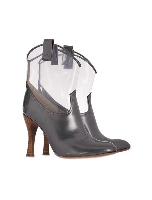 Plastic Metallic Cowboy Boots ($895)
