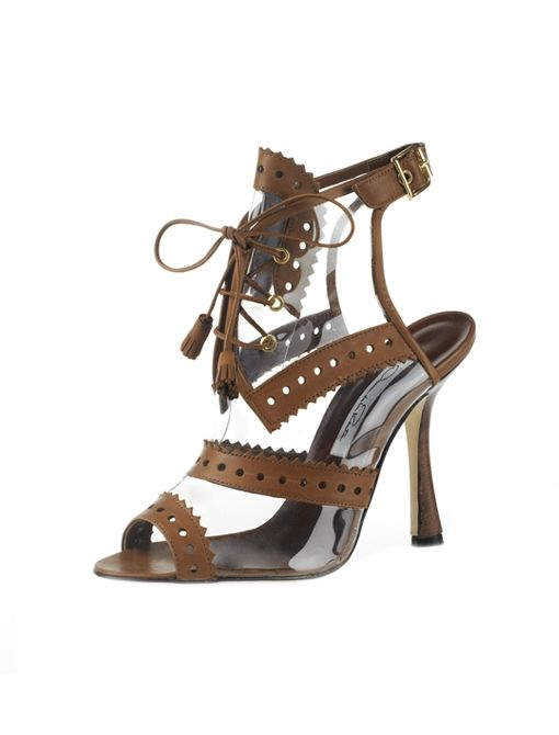 Oxford Illusion Sandals ($895)