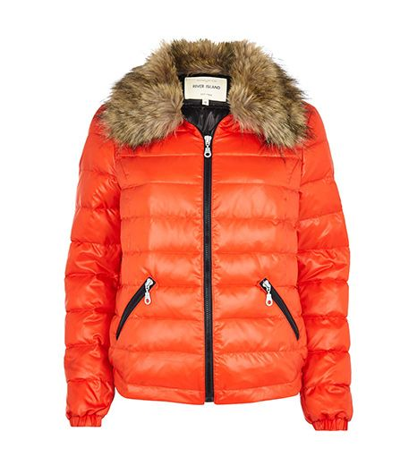 River Island  Down Feather Padded Jacket