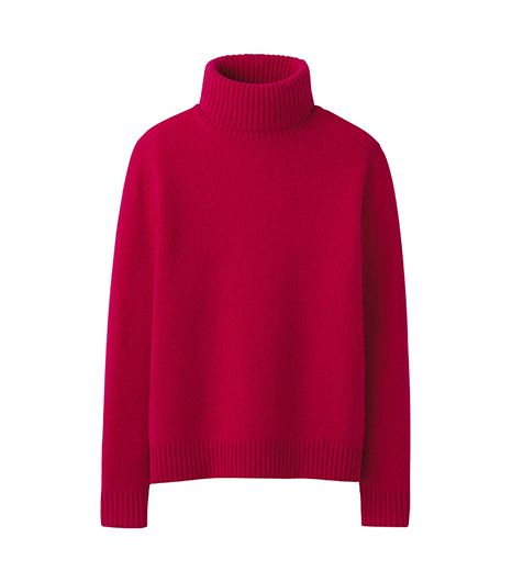 Uniqlo Alpaca Blend Turtle Neck Sweater