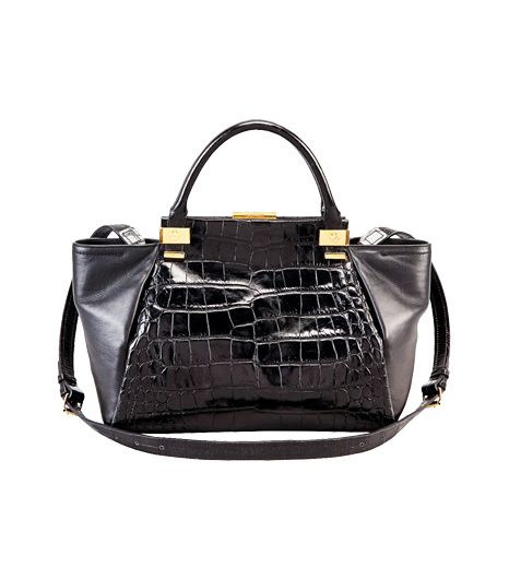 Lanvin Trilogy Calfskin Medium Tote
