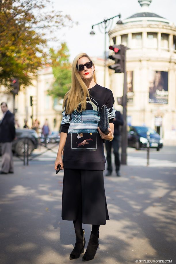 1 Givenchy Graphic Sweatshirt, 3 Ways: Street Style Inspiration From 3 Fashion Insiders