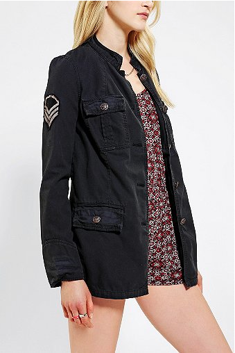 Ecote  Canvas Military Jacket
