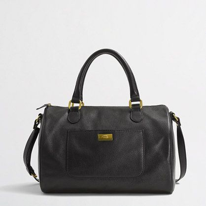 J.Crew  Factory Leather Dorset Satchel