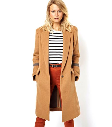 Asos Knee-Length Overcoat