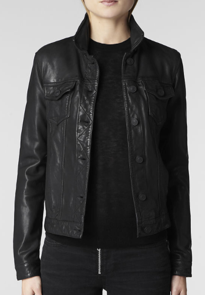 AllSaints  Belmont Leather Jacket