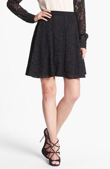 Diane von Furstenberg  Radella Paneled Lace Skirt