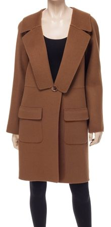 Leon Max  Doubleweave Wool Coat