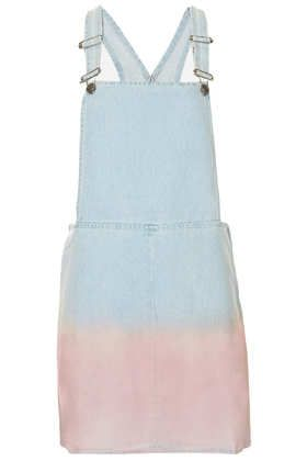 Topshop  Moto Dip Dye Pini Dress