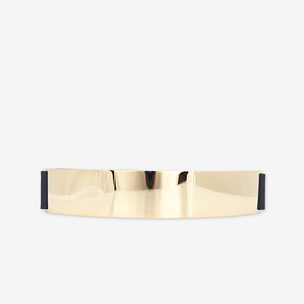 Brave  Exclusive Metal Plate Belt