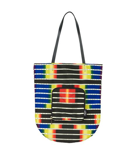 Kate Spade Saturday Fold-Away Tote in Spectrum Stripe