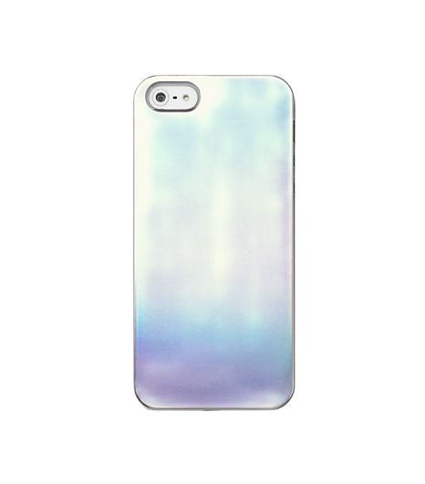 Kate Spade Saturday iPhone 5 Case in Silver Iridescent Solid
