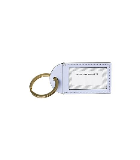 Kate Spade Saturday Your-Name-Here Keychain
