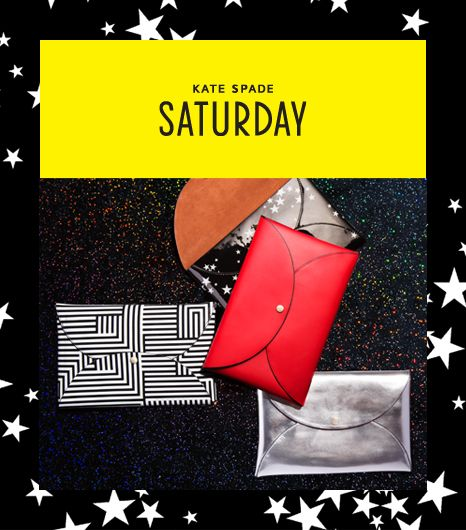Hit The Holiday Party Circuit in Style with Kate Spade Saturday