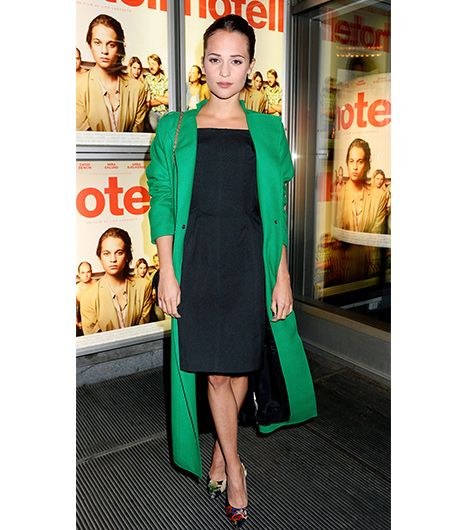 7. Wear With A Colorful Coat 