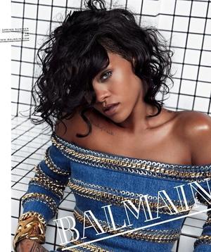 Rihanna Stars In Balmain's S/S 2014 Campaign